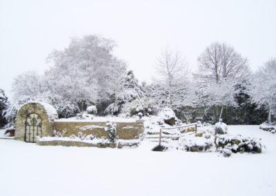 Mainbervilliers sous la neige
